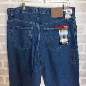 Men's 560 loose big & tall Levi jeans 38x38